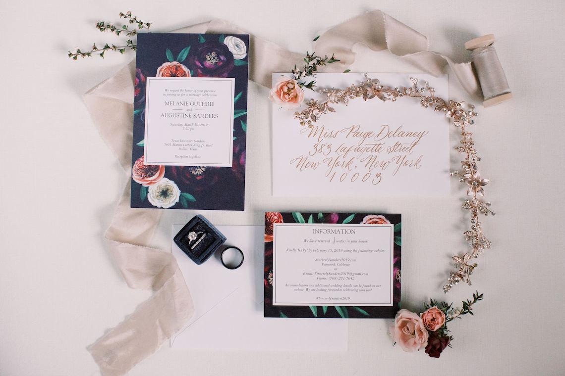 Pretty Texas Garden Wedding With A Blush Pink Wedding Dress – Deven Ashley 3