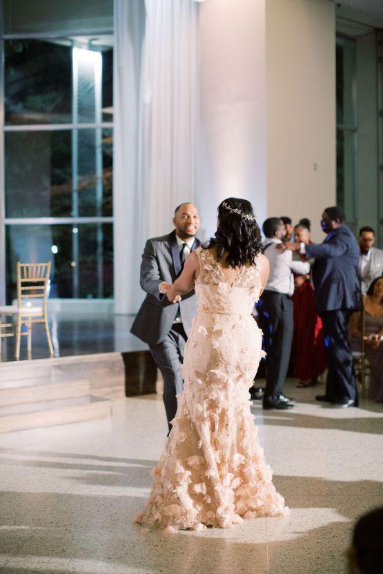 Pretty Texas Garden Wedding With A Blush Pink Wedding Dress – Deven Ashley 31