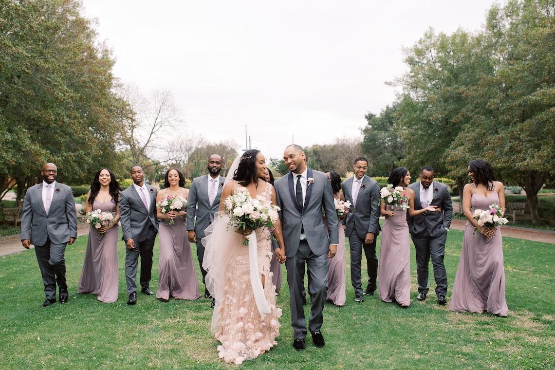 Pretty Texas Garden Wedding With A Blush Pink Wedding Dress – Deven Ashley 6