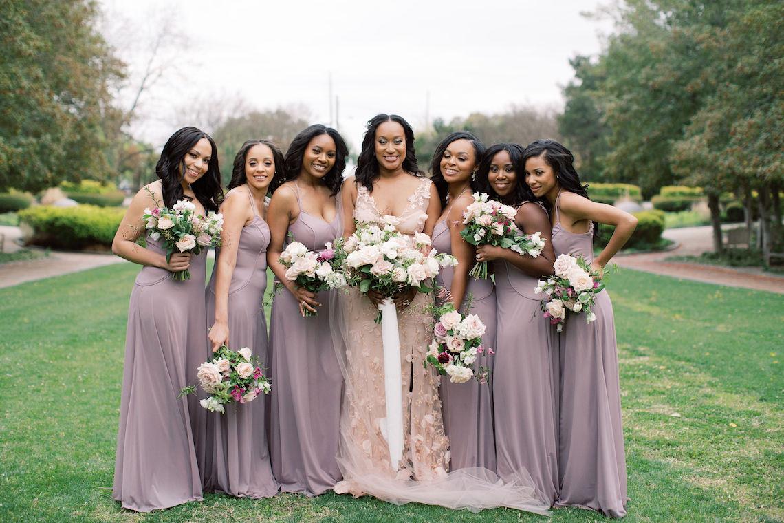 Pretty Texas Garden Wedding With A Blush Pink Wedding Dress – Deven Ashley 7