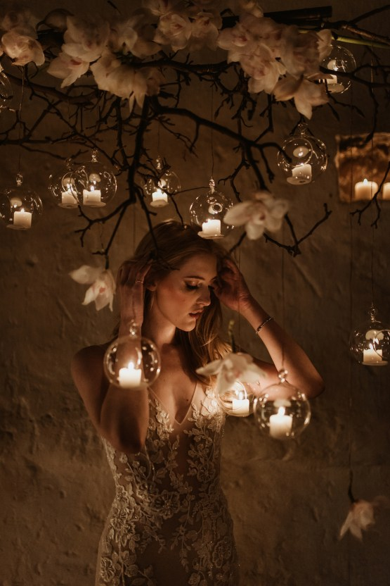 Candlelit Wedding Inspiration With Pretty Fairy Lights – Lauren Pretorius Photography 17
