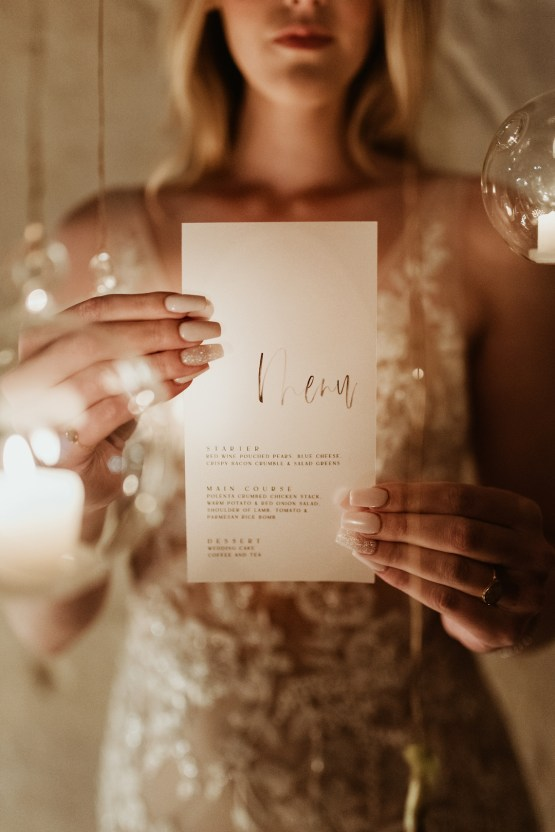 Candlelit Wedding Inspiration With Pretty Fairy Lights – Lauren Pretorius Photography 19