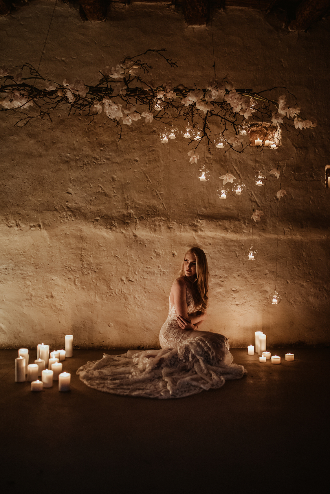 Candlelit Wedding Inspiration With Pretty Fairy Lights – Lauren Pretorius Photography 20