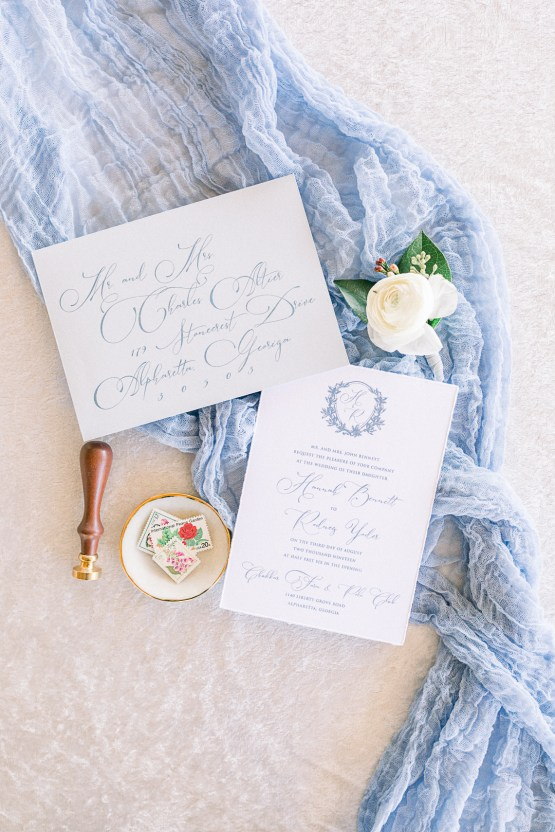 Dusty Blue Meadow Wedding Inspiration – Gracious Company 13