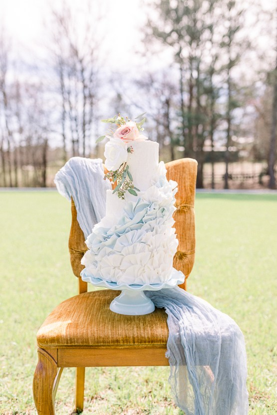 Dusty Blue Meadow Wedding Inspiration – Gracious Company 25
