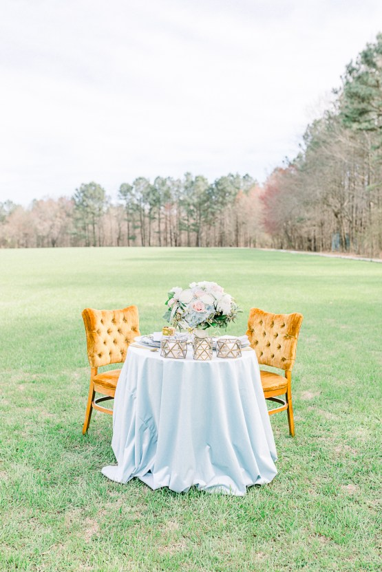 Dusty Blue Meadow Wedding Inspiration – Gracious Company 36