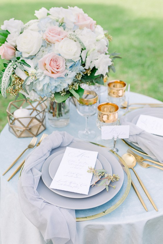 Dusty Blue Meadow Wedding Inspiration – Gracious Company 37