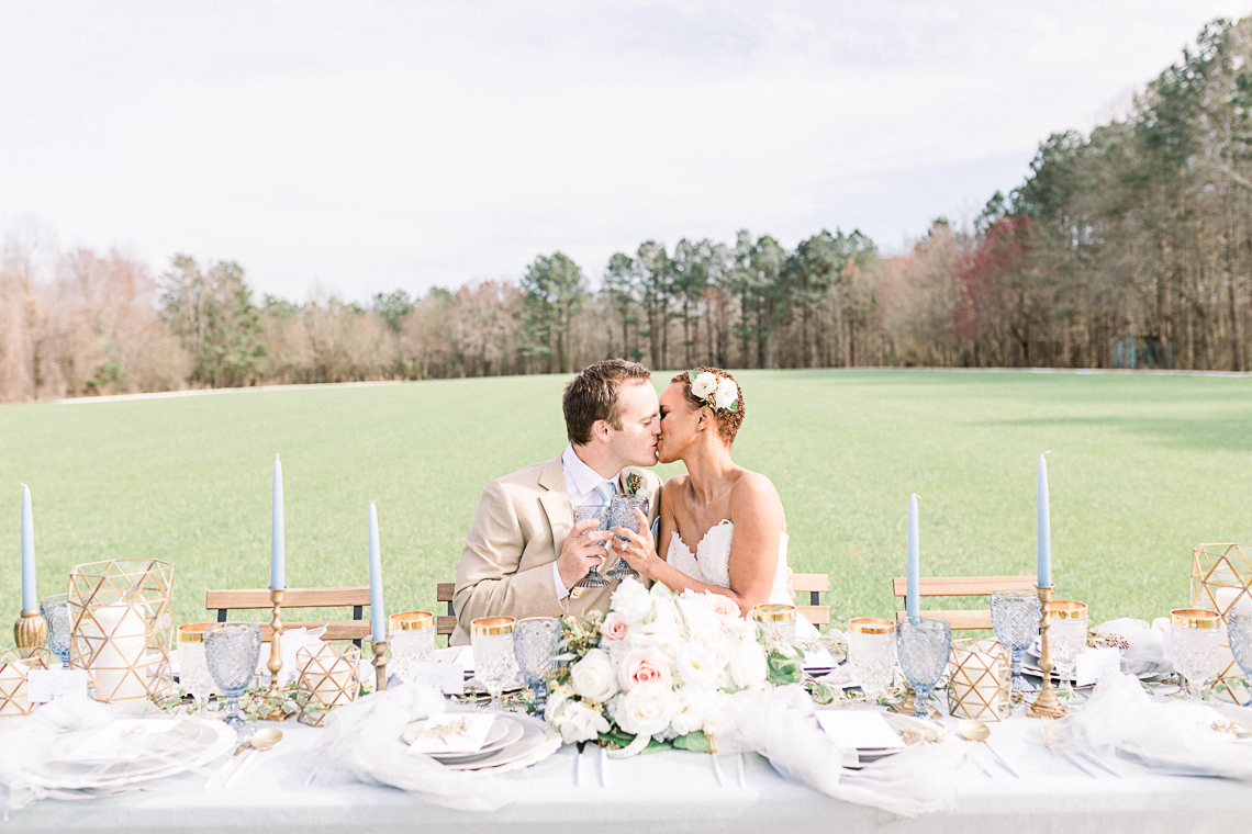 Dusty Blue Meadow Wedding Inspiration – Gracious Company 5