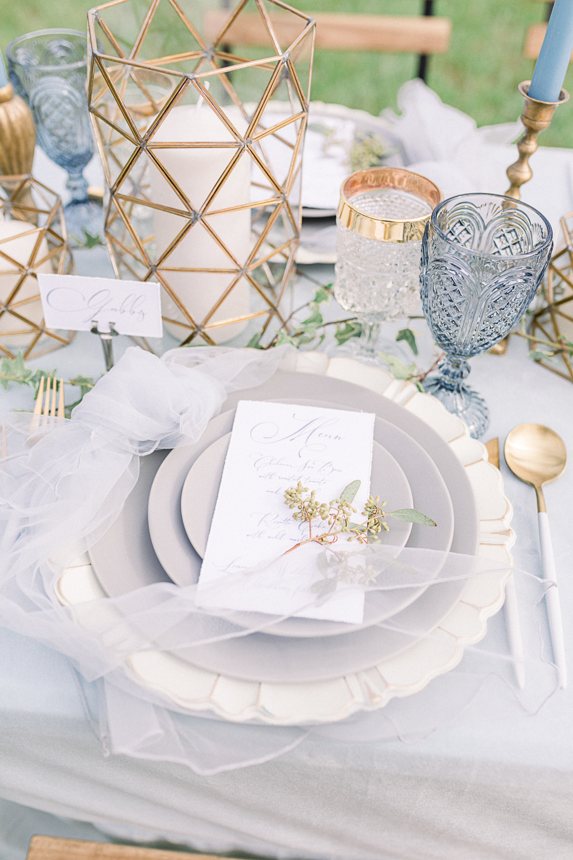 Dusty Blue Meadow Wedding Inspiration – Gracious Company 54