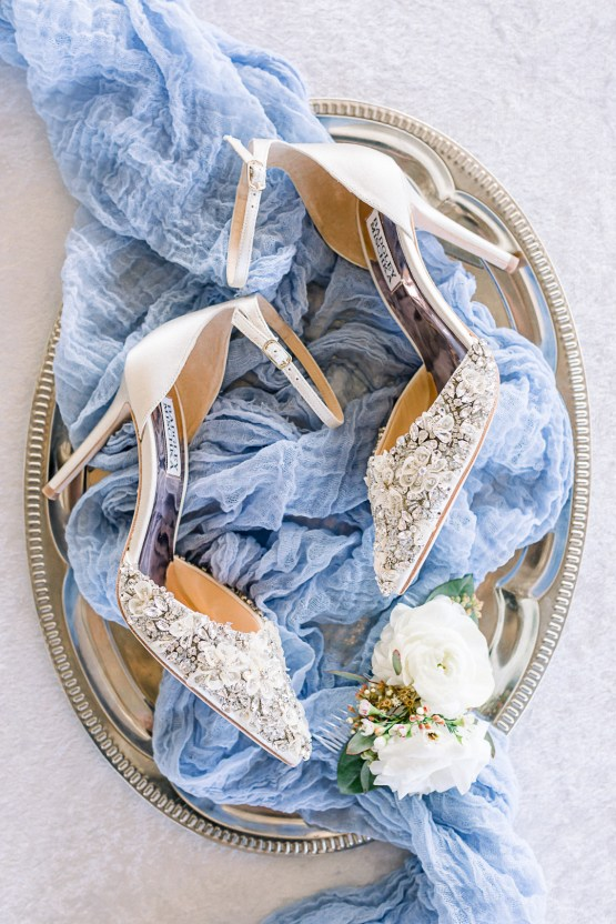 Dusty Blue Meadow Wedding Inspiration – Gracious Company 7