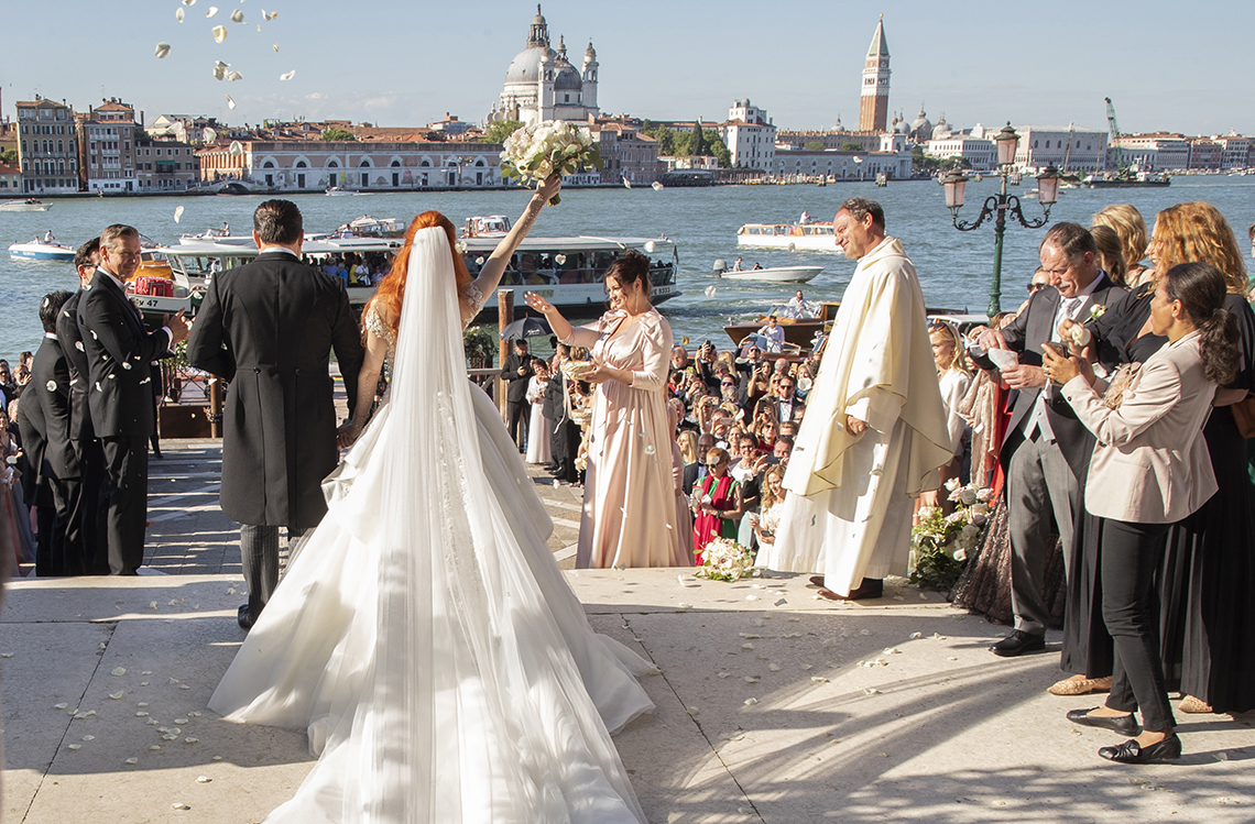 Barbara Meier und Klemens Hallmann Wedding 1 June 2019