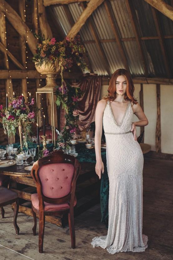 Opulent Barn Holiday Wedding Inspiration – Kerry Ann Duffy Photography 19
