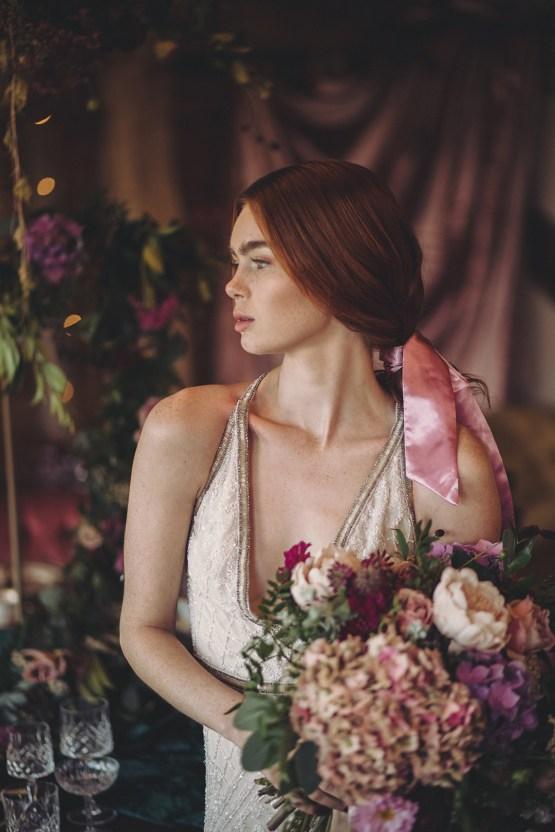 Opulent Barn Holiday Wedding Inspiration – Kerry Ann Duffy Photography 20