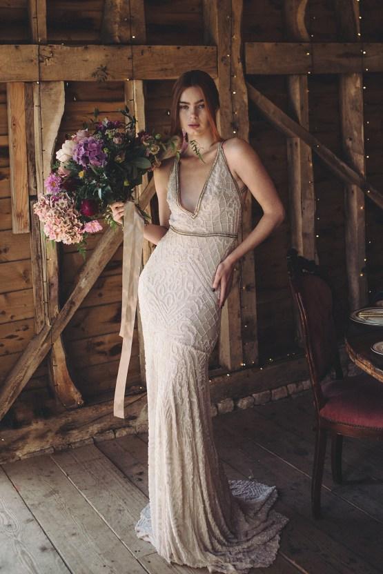 Opulent Barn Holiday Wedding Inspiration – Kerry Ann Duffy Photography 23