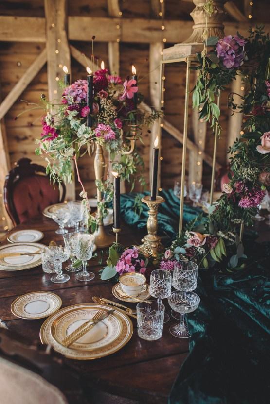 Opulent Barn Holiday Wedding Inspiration – Kerry Ann Duffy Photography 27