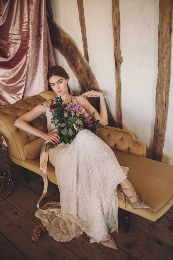 Opulent Barn Holiday Wedding Inspiration – Kerry Ann Duffy Photography 28