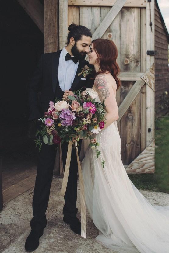 Opulent Barn Holiday Wedding Inspiration – Kerry Ann Duffy Photography 31