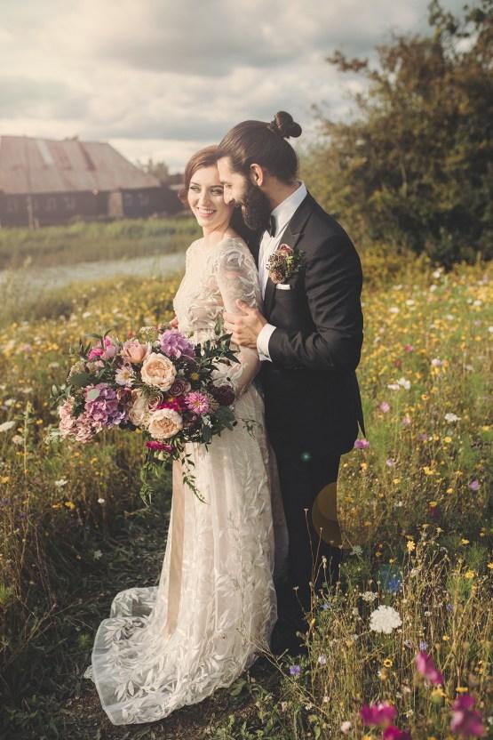 Opulent Barn Holiday Wedding Inspiration – Kerry Ann Duffy Photography 39