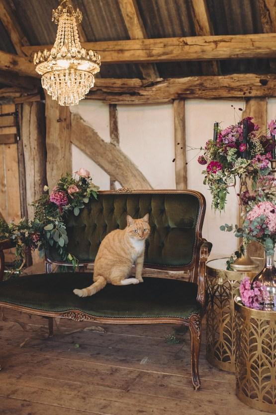 Opulent Barn Holiday Wedding Inspiration – Kerry Ann Duffy Photography 40