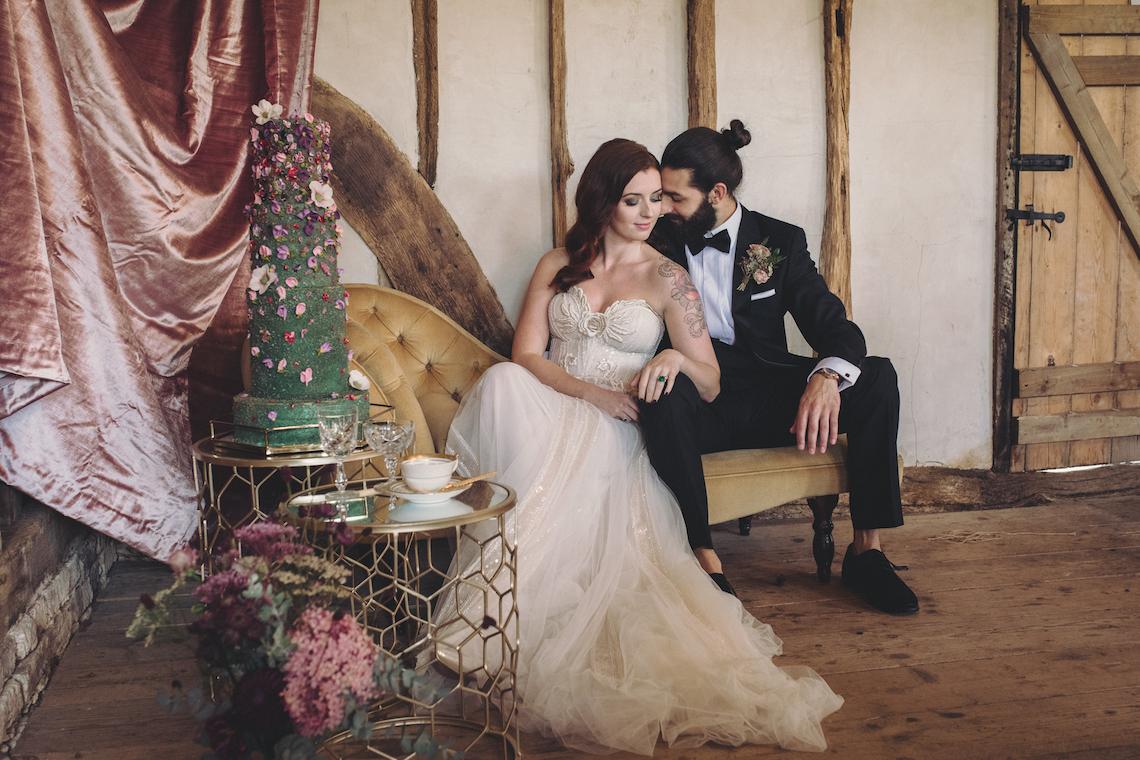 Opulent Barn Holiday Wedding Inspiration – Kerry Ann Duffy Photography 5