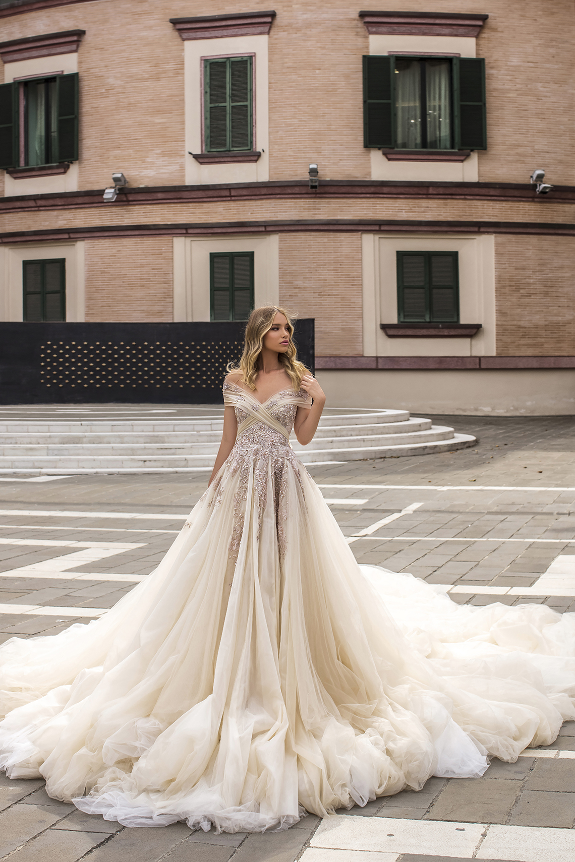 Showstopping Dazzling WONA Bridal Wedding Dresses – Aurora – Celebrate