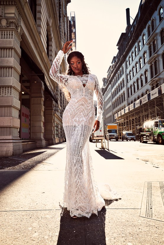 Showstopping Dazzling WONA Bridal Wedding Dresses – NYC Photos 1
