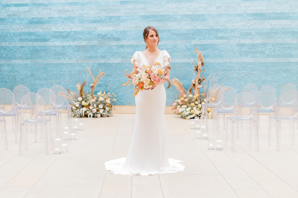 Blue Ombre and Lucite 2020 Wedding Ideas – Penelope Lamore 1