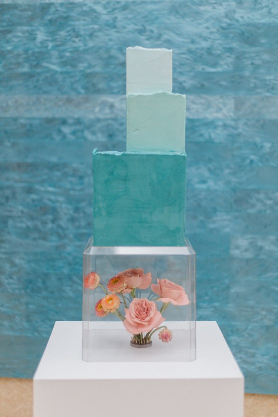 Blue Ombre and Lucite 2020 Wedding Ideas – Penelope Lamore 34