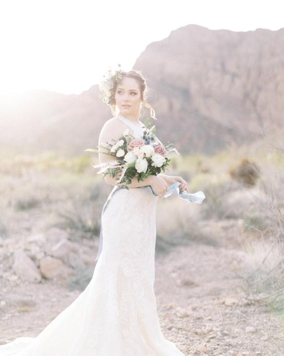 Ethereal Blue Desert Wedding Inspiration – Madeleine Collins Photography 12