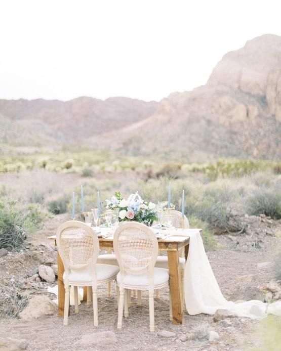 Ethereal Blue Desert Wedding Inspiration – Madeleine Collins Photography 15
