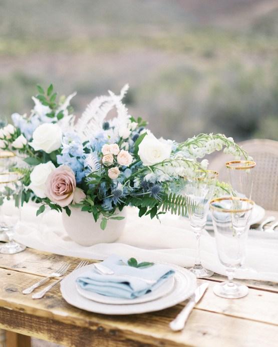 Ethereal Blue Desert Wedding Inspiration – Madeleine Collins Photography 18
