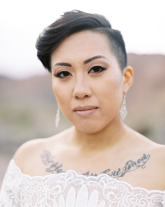 Ethereal Blue Desert Wedding Inspiration – Madeleine Collins Photography 19