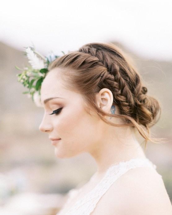 Ethereal Blue Desert Wedding Inspiration – Madeleine Collins Photography 23