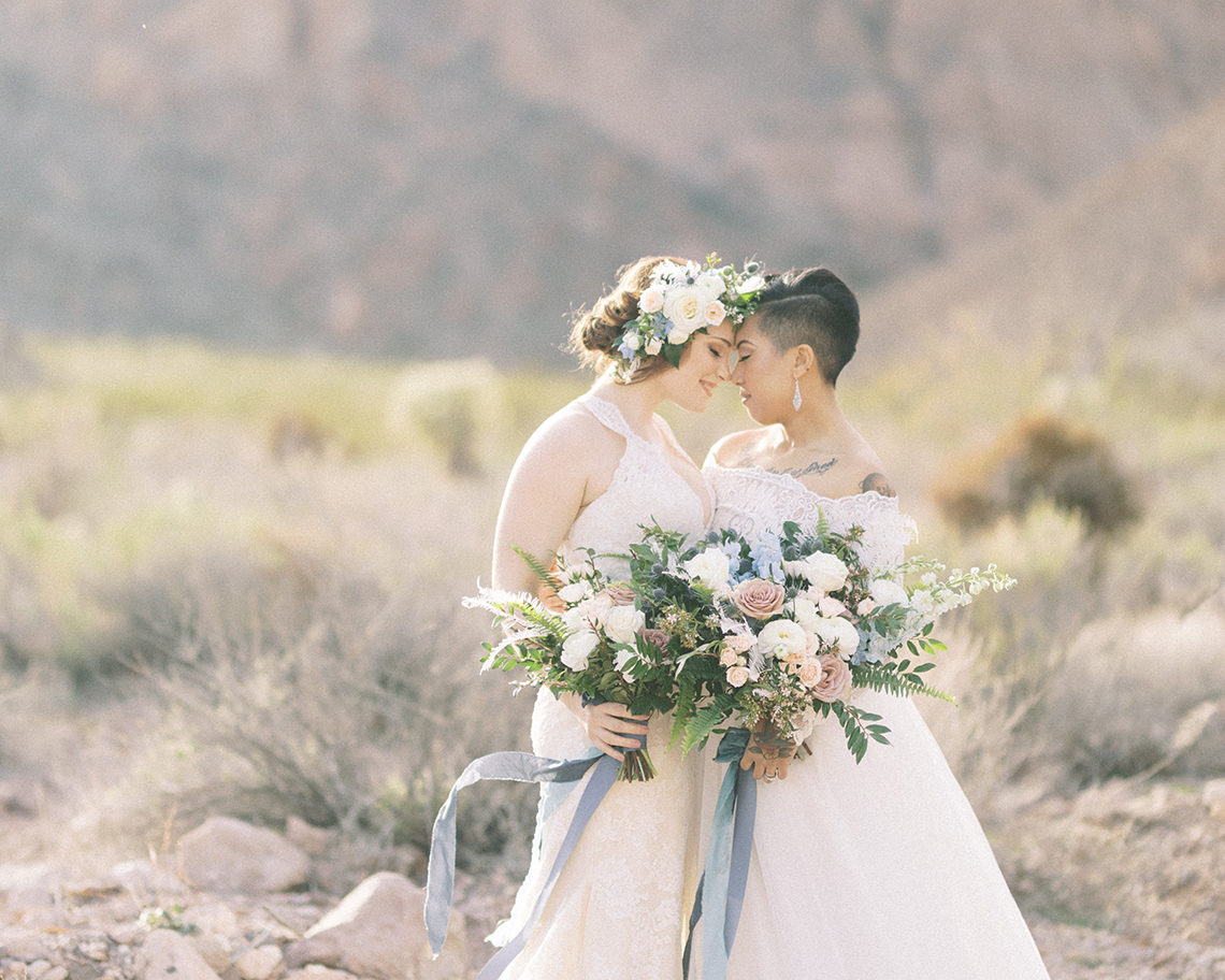 Ethereal Blue Desert Wedding Inspiration – Madeleine Collins Photography 28