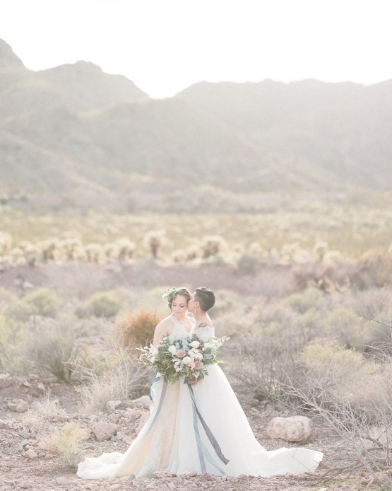 Ethereal Blue Desert Wedding Inspiration – Madeleine Collins Photography 3
