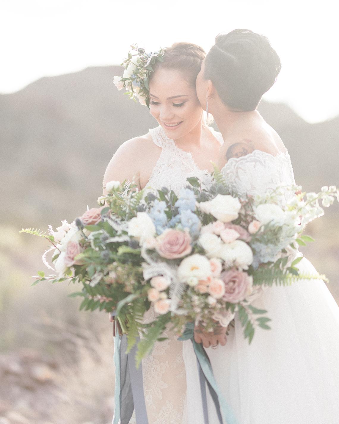 Ethereal Blue Desert Wedding Inspiration – Madeleine Collins Photography 4