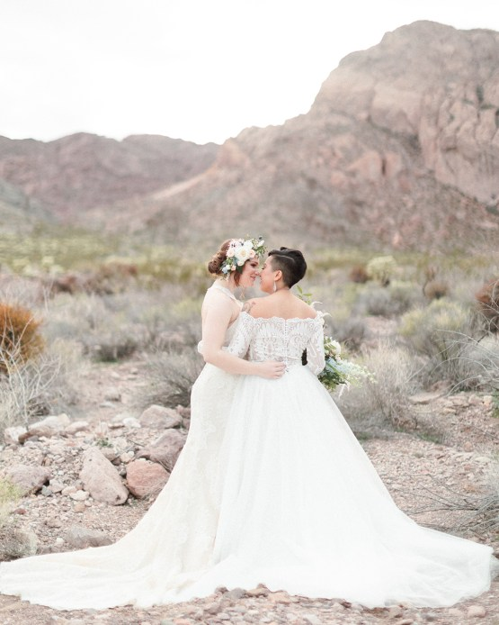 Ethereal Blue Desert Wedding Inspiration – Madeleine Collins Photography 7