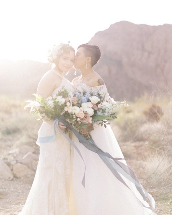Ethereal Blue Desert Wedding Inspiration – Madeleine Collins Photography 9