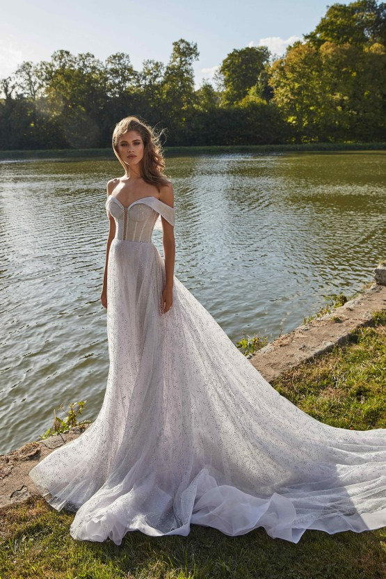 Galia Lahav Fancy White 2020 Wedding Dress Collection – Aretha 2
