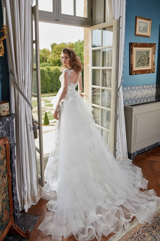 Galia Lahav Fancy White 2020 Wedding Dress Collection – Judy with Cape