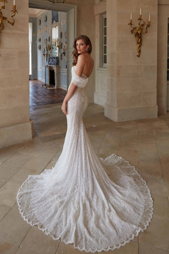 Galia Lahav Fancy White 2020 Wedding Dress Collection – Simone 3
