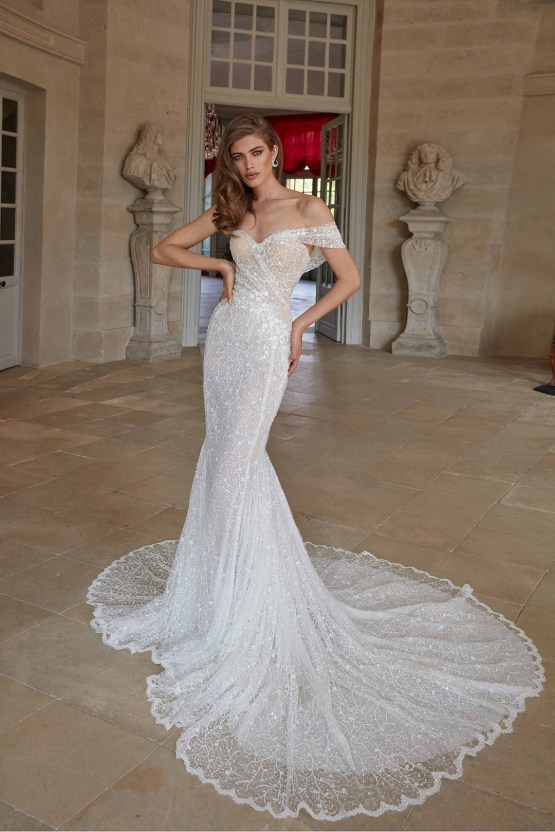 Galia Lahav Fancy White 2020 Wedding Dress Collection – Simone 6
