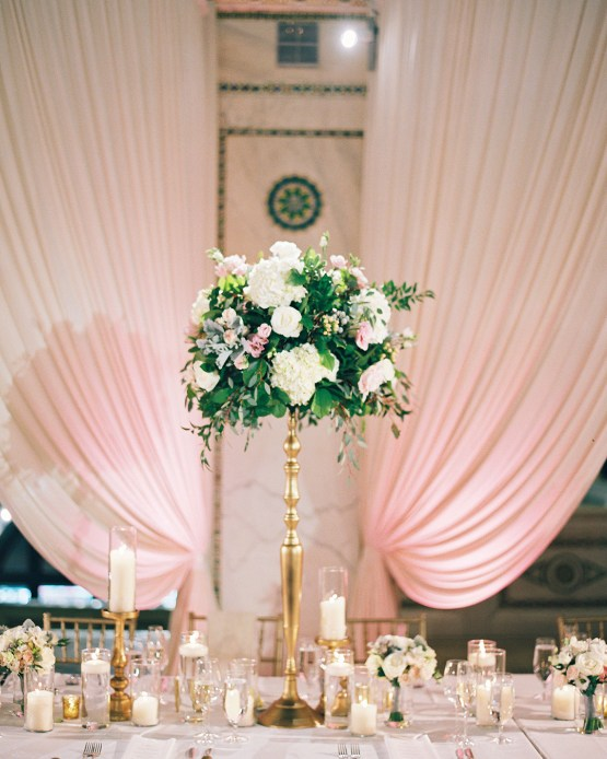 Gorgeous Green and Pink Chicago Ballroom Wedding – Clary Pfeiffer Photography – LOLA Event Productions 32