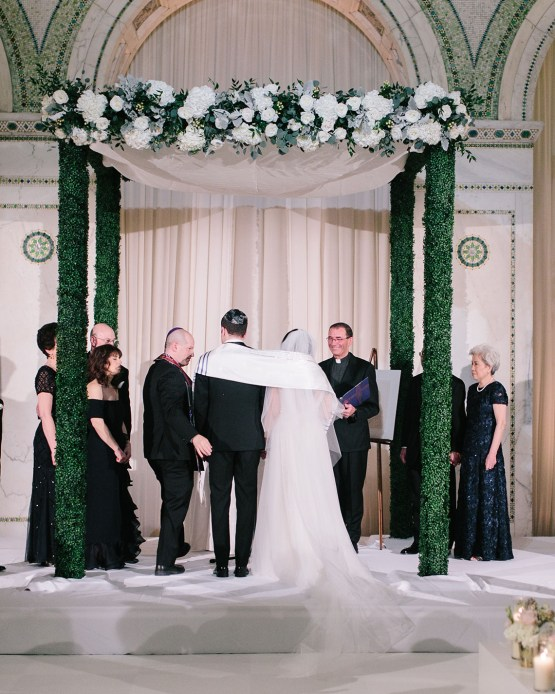 Gorgeous Green and Pink Chicago Ballroom Wedding – Clary Pfeiffer Photography – LOLA Event Productions 47