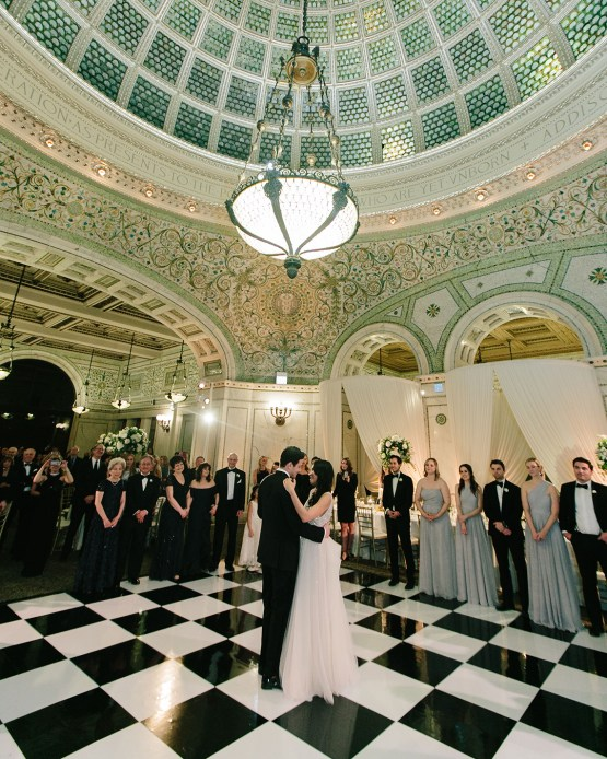 Gorgeous Green and Pink Chicago Ballroom Wedding – Clary Pfeiffer Photography – LOLA Event Productions 49