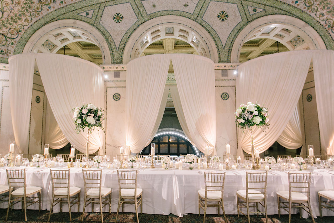 Gorgeous Green and Pink Chicago Ballroom Wedding – Clary Pfeiffer Photography – LOLA Event Productions 6