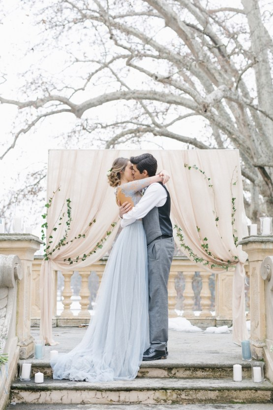 Gorgeous Winter Blue Wedding Inspiration – Irene Fucci 15