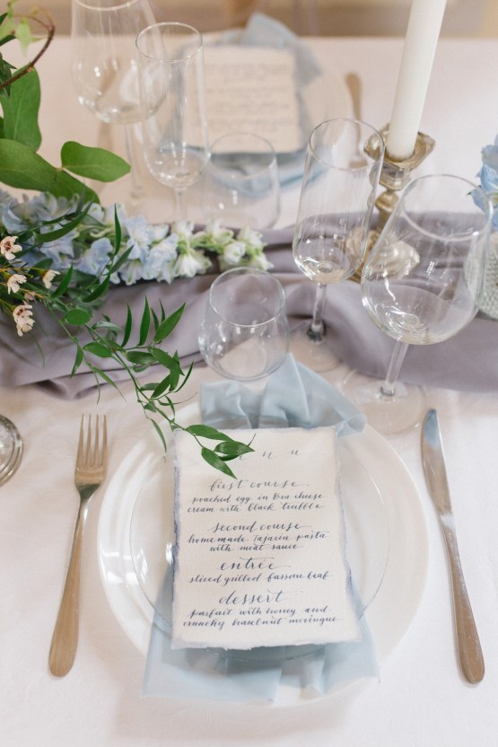 Gorgeous Winter Blue Wedding Inspiration – Irene Fucci 23