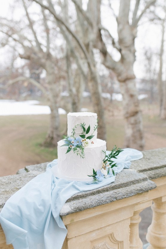 Gorgeous Winter Blue Wedding Inspiration – Irene Fucci 29