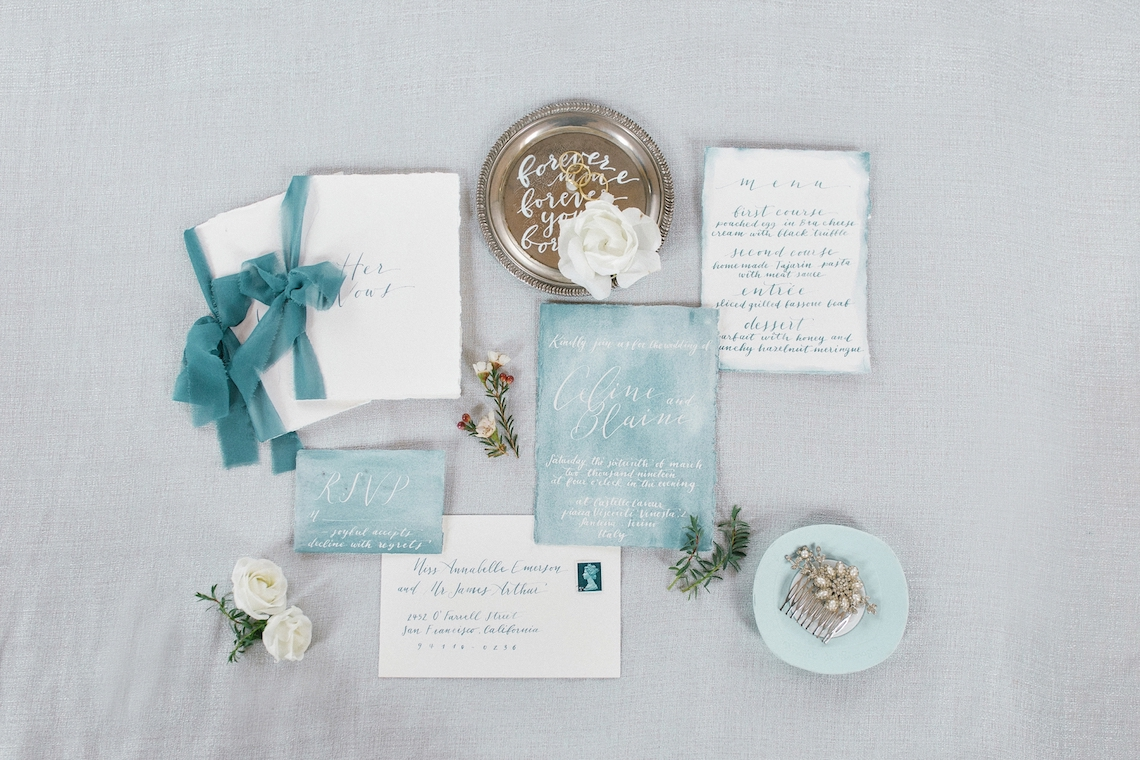 Gorgeous Winter Blue Wedding Inspiration – Irene Fucci 46